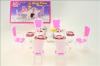 Nábytek Glorie pro panenky Barbie - Jídelní stůl s doplňky *