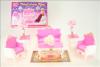 Nábytek Glorie pro panenky Barbie - Obývák Deluxe *