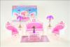 Nábytek Glorie pro panenky Barbie - Sedací souprava *