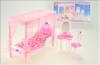 Nábytek Glorie pro panenky Barbie - Postel *