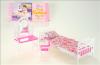 Nábytek Glorie pro panenky Barbie - Postel a toaletka *
