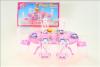 Nábytek Glorie pro panenky Barbie - Jídelní stůl *