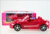 Nábytek Glorie pro panenky Barbie - auto sportovní červené *