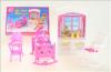 Nábytek Glorie pro panenky Barbie - Dětský pokojíček *