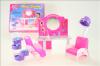 Nábytek Glorie pro panenky Barbie - Kadeřnický salon *