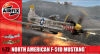 Slepovací model Airfix 1:72 North American F-51D Mustang *
