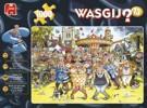 Puzzle Jumbo - Wasgij - Francouzský kankán 1000 dílků