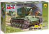 Slepovací model Zvezda 1:35 Soviet heavy tank KV-2 *