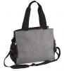 Přebalovací taška ke kočárku SO ACTIVE! - šedo/černá