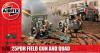 Slepovací model Airfix 1:76 25pdr Field Gun and Quad *