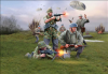 Plastové figurky Revell 1:72 German Paratroopers WWII *
