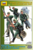 Slepovací figurky Zvezda 1:35 German Mortar with Crew *