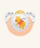 0-6m Dudlík NUK TRENDLINE - Medvídek Pú - bílý
