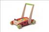 Dřevěný vozík s kostkami - Beruška * *