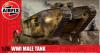 Slepovací model Airfix 1:76 WWI 'Male' Tank *