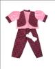 Oblečení pro panenky Hamiro 40cm - obleček s kalhotami - různé varianty a  barvy