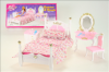 Nábytek Glorie pro panenky Barbie - Ložnice *