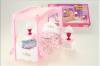 Nábytek Glorie pro panenky Barbie - Postel s nebesy *