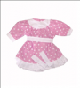 Oblečení pro panenky Hamiro 40cm - šaty - různé varianty a barvy