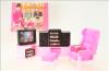 Nábytek Glorie pro panenky Barbie - Obývací stěna *